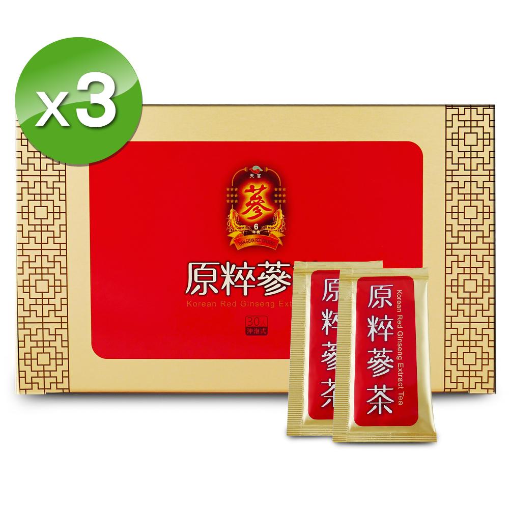 華陀扶元堂-天官原粹蔘茶x3(30入/盒)