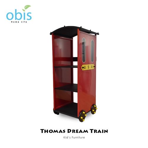 兒童家具/衣帽架【obis】Kid's Neverland湯瑪士小火車系列 - 三層置物架