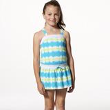 【SARBIS】MIT泡湯SPA女童二件式泳裝附泳帽B82502