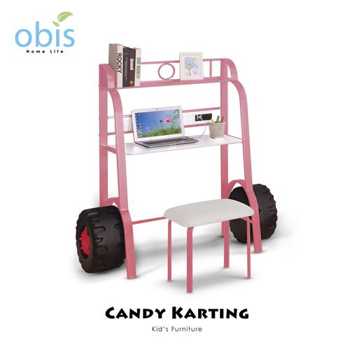 兒童家具/書桌/桌椅【obis】Kid's Neverland糖果卡丁車系列 - 書桌椅組