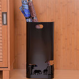 PUSH! 好聚好傘, 實用美學設計防滑雨傘架雨傘桶收納桶I37黑色