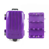 【iGimmick】3C線材收納盒- 紫色行李箱