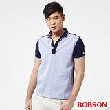 BOBSON 男款配條POLO上衣 (25011-53)