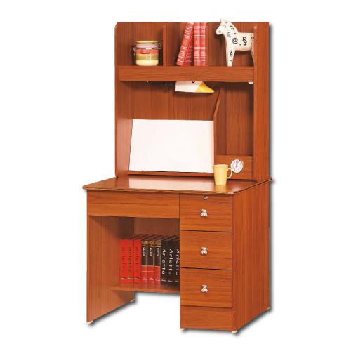 【AS】Susan柚木3尺書桌全組