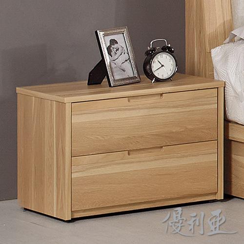 【優利亞-伯納德】1.8尺床頭櫃