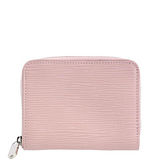 Louis Vuitton LV M61206 EPI 質感皮革壓紋信用卡拉鍊零錢包.粉 預購