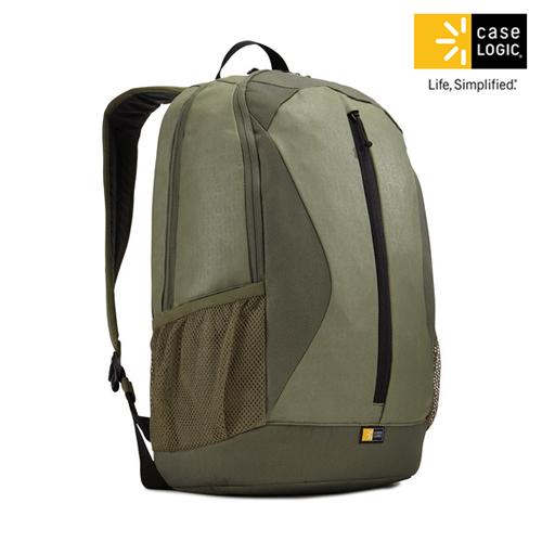 美國Case Logic 雙肩15.6吋 10.1吋平板電腦後背包IBIR~115綠色