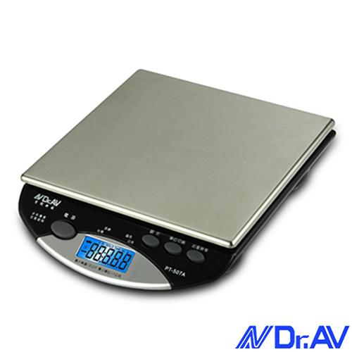 【Dr.AV】超耐用不鏽鋼電子秤(PT-507A)