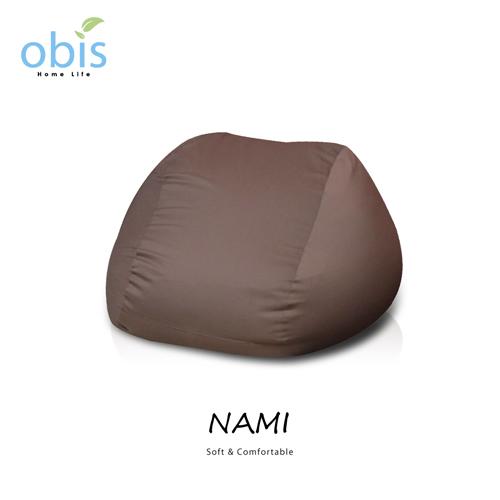 ~obis~NAKA 日式超微粒舒適懶人方形沙發~三色