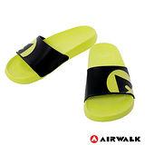 AIRWALK(男) - 輕盈舒適中性EVA休閒多功能室內外拖鞋 - 淺綠