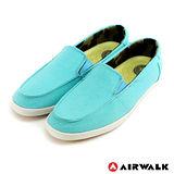 AIRWALK(女) - 立線悠活系列 直套帆布鞋 - 優雅藍