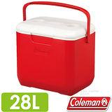 【美國 Coleman】EXCURSION 美利紅冰箱 28L.高效能行動冰箱.保冷保冰箱.冰筒.冰桶.置物箱.保鮮桶/CM-27862