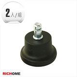 【RICHOME】電腦/辦公椅固定輪(2入)