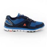 AIRWALK(男) - 挑戰自我記憶鞋墊網布運動鞋 - 藍