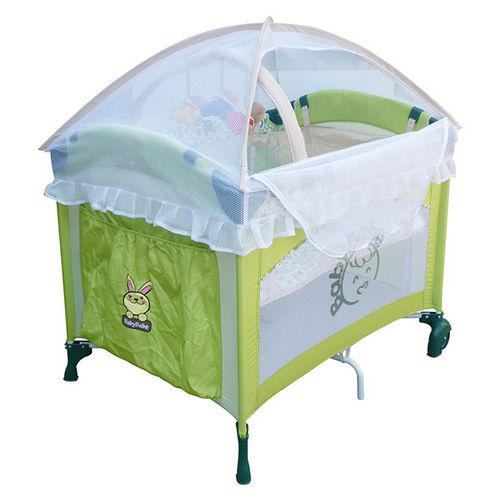 【Babybabe】拱型遊戲床(基本款)~綠色