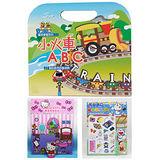小火車ABC磁貼手提包+HELLO KITTY OR 多啦A夢輕巧包