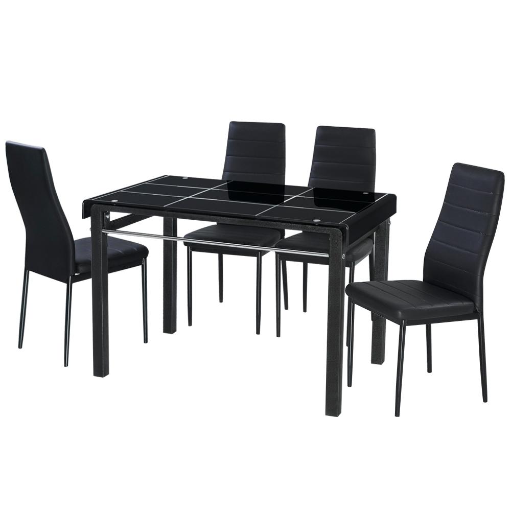 免組裝 馬可長方桌椅組
