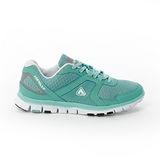 AIRWALK(女) - 悠活記憶鞋墊網布運動鞋 - 淺藍綠