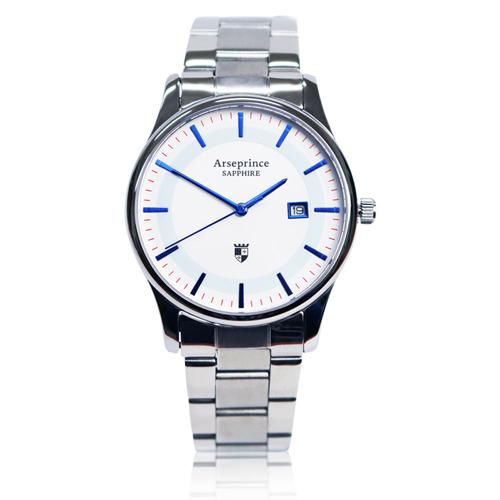 【Arseprince】極簡品味風格時尚中性錶-藍色