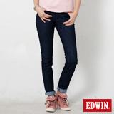EDWIN MISS EDGE窄直筒牛仔褲-女-原藍色