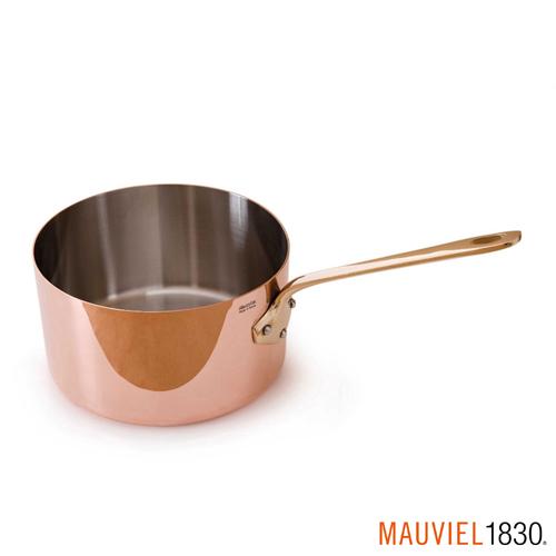 法國Mauviel-紅銅單手醬汁鍋(12cm)