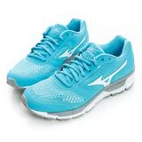 MIZUNO 美津濃 女鞋 慢跑鞋-水藍-J1GF161901
