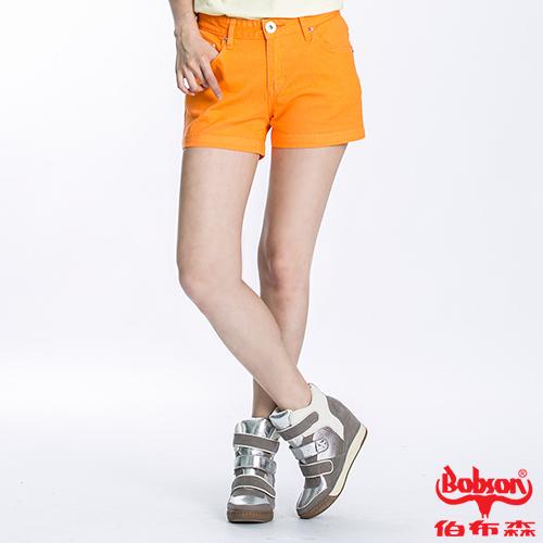 BOBSON 女款套染短褲(196-31)