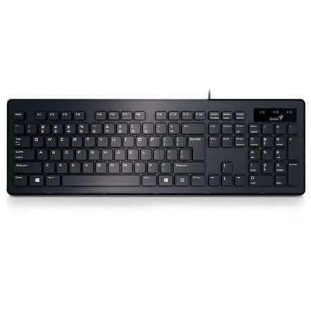 Genius 昆盈 SlimStar 130 薄型巧克力鍵盤