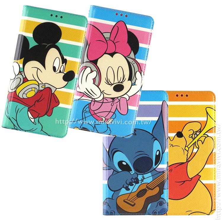 Disney SONY Xperia Z5 音樂人物隱磁側掀皮套