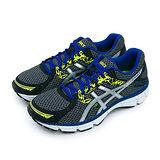 【男】ASICS亞瑟士 專業慢跑鞋 GEL-OBERON 10 黑藍銀 T5N1N-9093