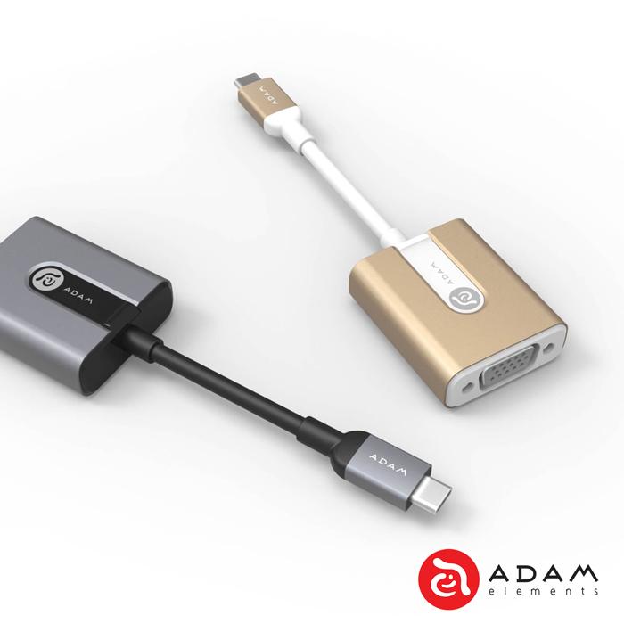 ~亞果元素~CASA V01 USB Type~C對 VGA 轉接器