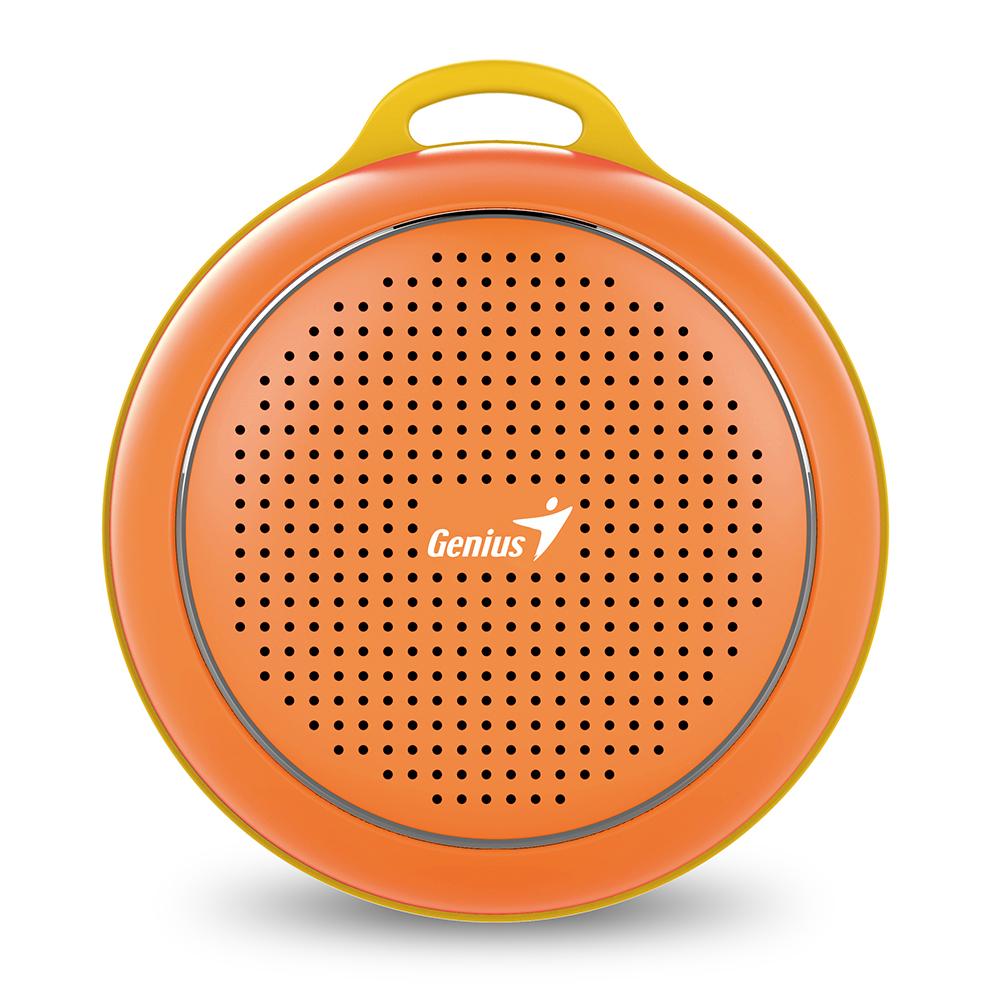 Genius 昆盈 SP~906BT 便攜型藍牙無線喇叭 耀眼橘