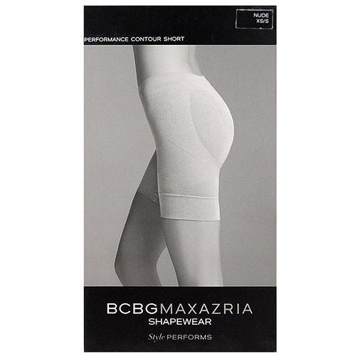 BCBG 短管提臀塑型束褲-膚色【XS/S號】