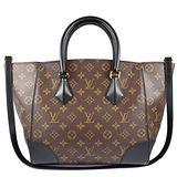 Louis Vuitton LV M41542 Phenix MM 經典花紋兩用仕女包.黑 現貨