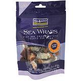 【海洋之星FISH4DOGS】營養潔齒點心—魚皮地瓜100g/2入(適合一般犬隻食用)