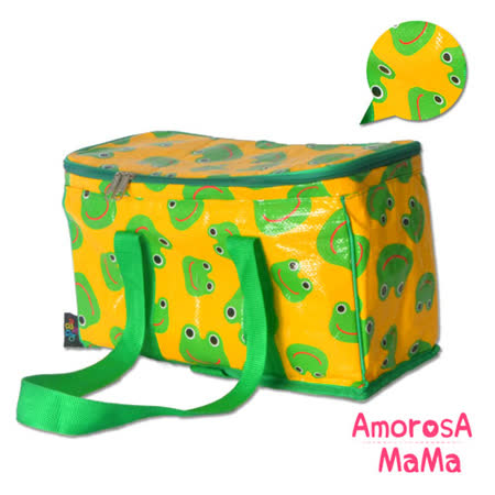 【Amorosa Mama】多用手提式保冷保溫袋/野餐包/保鮮袋 (青蛙)
