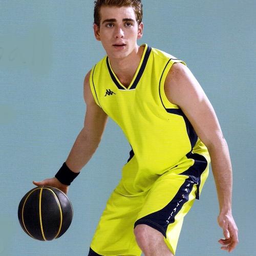 Kappa 籃球上衣+籃球短褲 QA42-Q001/QG42-Q901
