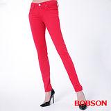 BOBSON 女款膠原蛋白彩色小直筒褲(8118-07)