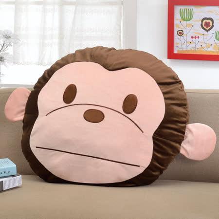 星辰 療癒猴造型抱枕(中)