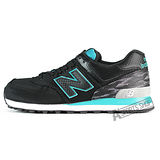 NEW BALANCE (男) 紐巴倫 TIER 3 復古鞋 黑-ML574SIB