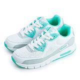 【女】DIADORA 經典復古慢跑鞋 classic 系列 白綠灰 2885