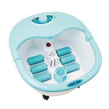 勳風加熱式六滾輪氣泡按摩足浴機