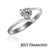 【JELY】真摯情誼0.30克拉H&A八心八箭美鑽戒指