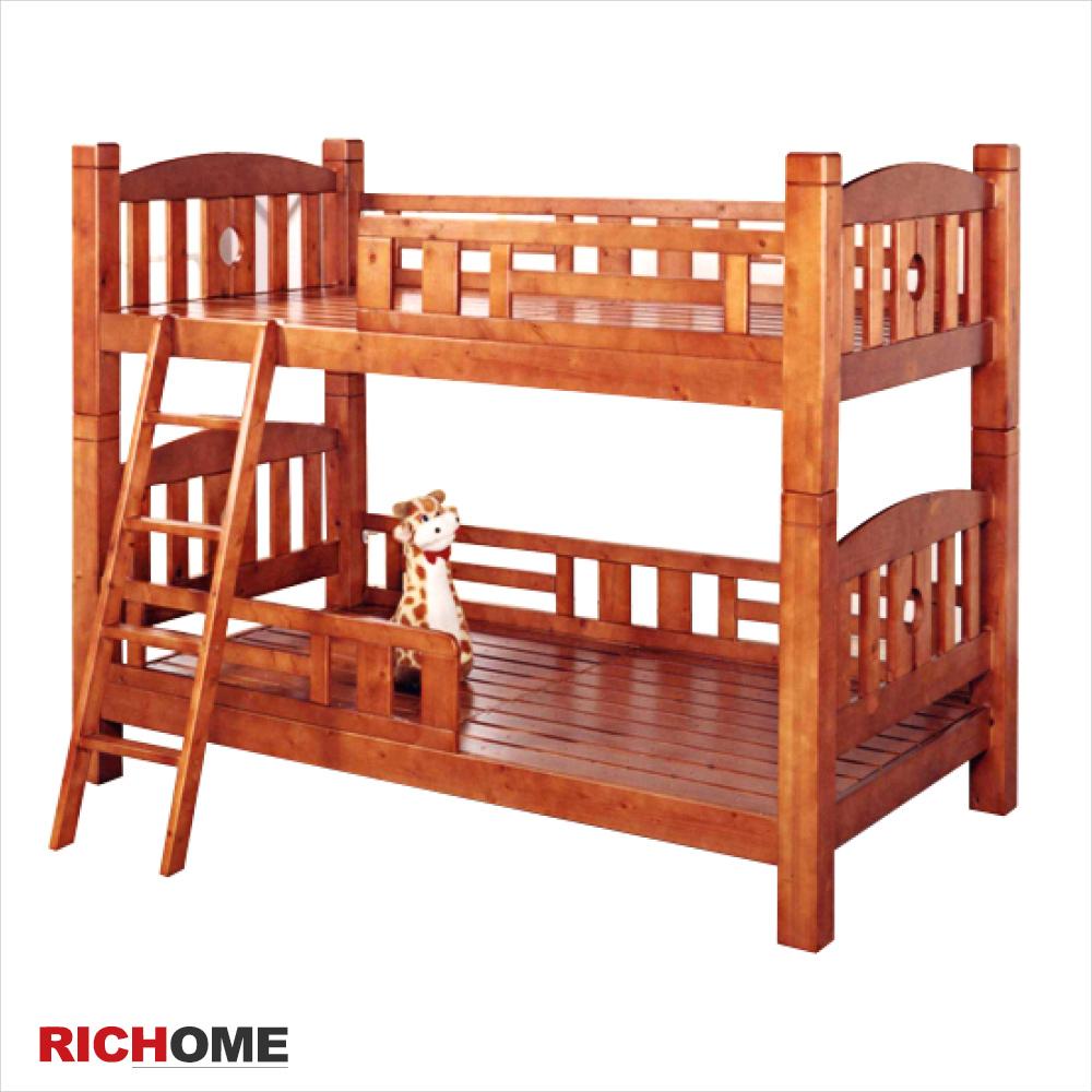 【RICHOME】歐尼爾雙層床(粗柱款)