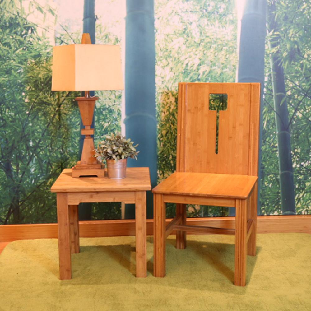 【HAPPYHOME】竹製太觀氣派四方竹椅RZ6-G-C免運費/餐椅/椅子