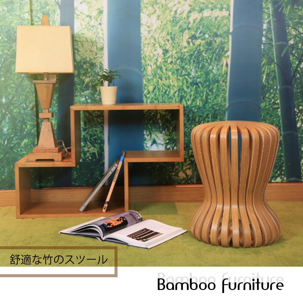 ~HAPPYHOME~竹製葫蘆椅凳 師指定款 RZ6~CS~C