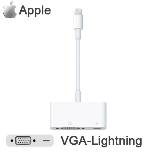 [團購2入] Apple 原廠 Lightning 對 VGA 轉接器