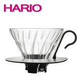 【日本 HARIO】V60好握把 玻璃濾杯 2人份