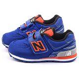 NewBalance 小童 經典574復古運動鞋KG574SXI-藍