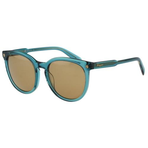 Salvatore Ferragamo- 時尚太陽眼鏡(綠色)
